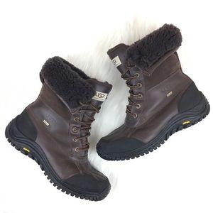 UGG Adirondack Leather Waterproof Winter Boot Sz 9
